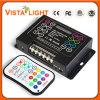 Regulador teledirigido de la música LED de DC5-DC24V IR RGB