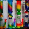 Buntes rauchendes Rohr-Glasrohr des Wasser-Bw134