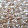 Azulejo de mosaico de agua dulce del color 10*20m m de Brown de la naturaleza del shell