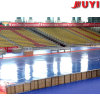 Jy-706引き込み式アルミニウムBleacherのプラスチックシートの移動可能な足の卸し業者のスポーツの競技場の座席