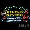 Знак комнаты партии Sue&John неоновый (SDL-121)