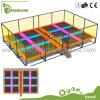 Económico Comercial Parque trampolín cubierto con Dodgeball para Relax