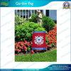 Satin 30*45cm fertigen Garten-Markierungsfahne kundenspezifisch an (J-NF06F11003)