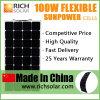 Солнечная панель солнечных батарей PV -Решетки силы 100watt Monocrystalline