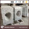浴室のための流しの排気切替器が付いている安い中国白の花こう岩G439の虚栄心の上