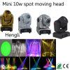 Testa mobile del mini del LED del punto punto capo mobile dell'indicatore luminoso 10W con il fascio (HL-014ST)