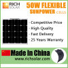 energia solare flessibile della pila solare del comitato solare di 50W 12V