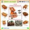 Ciment-Enclencher-Brique-Effectuer-Machine hydraulique semi-automatique d'argile (SY1-20)