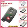 Chave esperta para Toyota com 3+1 preto das teclas Ask314.3MHz 3370 ID74 Wd03 Wd04 Camryyaris RV4reizvios 2008 2013