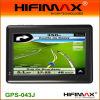4.3 인치 차 휴대용 GPS 항해자 (GPS-043J)