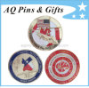 3D Coin con Enamel Color, Metal Military Challenge Coin