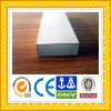 Tubo de aluminio rectangular