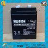 Bateria acidificada ao chumbo recarregável selada 6V4ah quente da venda para o UPS
