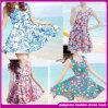 2015 самое горячее цветастое короткое платье Wholsale пляжа лета (D02535)