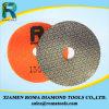 Almofadas de polonês do diamante de Romatools de almofadas de polonês Electroplated