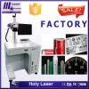 Fiber lasermarkeermachines voor metaal aluminium fles Code Mark