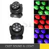 testa mobile del fascio LED di 7X15W LED 4in1 RGBW Osram