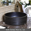 Colored noir Ceramic Art Wash Hand Basin pour Bathroom