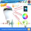 LED 가벼운 입체 음향 무선 전구 Bluetooth 휴대용 스피커
