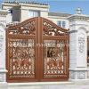 Porte de jardin en aluminium architecturale de villa