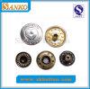 Горячая кнопка кнопки металла надувательства с логосом