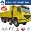 Carro de descargador pesado del camión de Sinotruk HOWO 8X4 para la venta