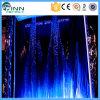 Fontaine artificielle d'intérieur économique de cascade à écriture ligne par ligne de rideau en eau de Digitals