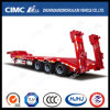 3axle Lowbed Semi-Trailer with Hydraulic Ramp