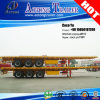 semi-remorque Semi-Reboque de bâti plat de conteneur de 40ft pour l'Angola