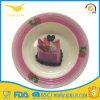 Plaque de gâteau de Canape de mélamine d'usine de la Chine pour le gosse