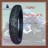 Superqualität, schlauchloser Reifen des ISO-Nylonmotorrad-6pr mit 90/90-18tl