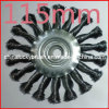 115mm Twist Knot Wheel Brush (YY-059)
