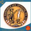 Moneta in lega di zinco su ordinazione del ricordo di sfida dell'oro per la polizia/militari