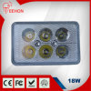 18W Epistar Waterproof LED Light für Harvester/Tractor/Truck/Pickup