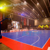Roll et Interlock de bonne qualité Sport Floor pour Football/Futsa Basketball L Court