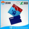 RFID que bloquea el blindaje anti de la tarjeta de crédito del hurto