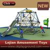 Cour de jeu extérieure de la CE d'enfants créateurs d'escalade (P1201-3)