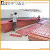 Продолжая плитки крыши синтетической смолаы PVC ASA сини Colorfull красные