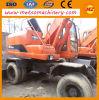 Excavador usado de la rueda de Doosan Dh150W-7 ((DH150W-7) para la construcción
