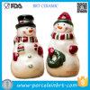 Sal de Papai Noel e abanador cerâmicos adoráveis da pimenta