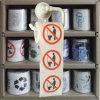 Chiffons personnalisés de papier de toilette estampés par PIPI de roulis de tissu de salle de bains