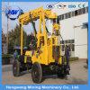 Macchina idraulica della piattaforma di produzione del pozzo d'acqua del camion di 150m