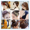 Волосы Bowknot цветка головного убора украшения волос способа женские орнаментируют вспомогательное оборудование волос