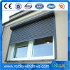 Preiswerter Preis-schiebendes Glasaluminiumfenster mit Rollen-Blendenverschluß