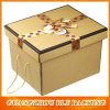 Customed acanalado Packing Box con Handle