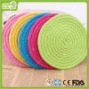 Candy Color Cotton Rope Frisbee Pet Toys