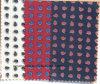 Pajarita teñida hilado impresa de la tela de Paisley del algodón