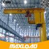 Velocidade de levantamento portátil da eficiência elevada mini guindaste de patíbulo de 5 toneladas