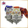 2016 médailles faites sur commande de récompense de médailles de souvenir de marathon de médailles de passage de couples