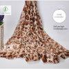 Manier van het Zonnescherm van de Luipaard van de Sjaals van de voile de Vlek Afgedrukte Dame Scarf Factory